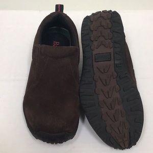 NWOB Bass Jericho Suede shoes, size 5 1/2 Big Boy